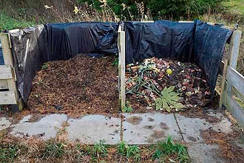 Устройство компостной кучи на даче своими руками фото 636